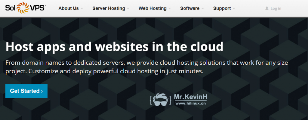 solvps:免费25刀,可免费使用最低配云服务器四个月-Mr.KevinH