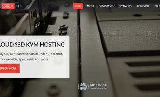 VMbox:$2.5/月/512MB内存/10GB SSD空间/1TB流量/KVM/Wildcard SSL/洛杉矶/荷兰