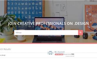 域名.design 首年免费注册