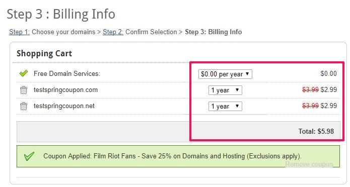 『域名』.COM和.NET注册只要$2.99/首年/优惠时间有限 干货分享 第1张