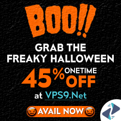 Make Your Halloween More Spooky With VPS9 Haunting Halloween Offers-Mr.KevinH