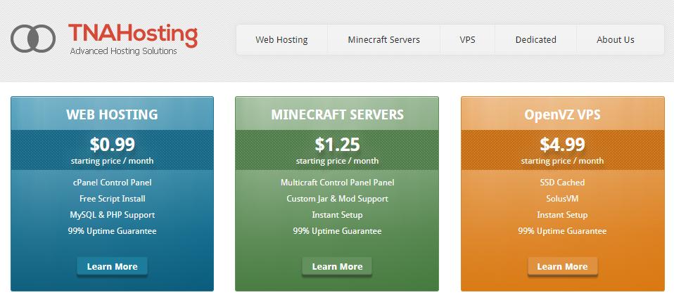 「VPS」TNAHosting - 2核 1G内存 50G硬盘 3T流量 OpenVZ 芝加哥 年付15刀 干货分享 第1张