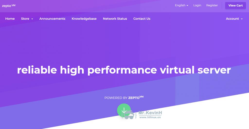 『测评』ZeptoVM-512M内存/10G SSD/512G流量/2*10Gbps带宽/俄罗斯CN2 VPS深度测评报告 主机测评 第1张