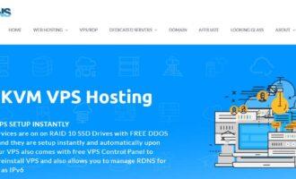 『VPS』Hosteons – 1核/1G内存/30G SSD/不限流量/100M带宽/洛杉矶Psychz/OpenVZ 7/年付13美元