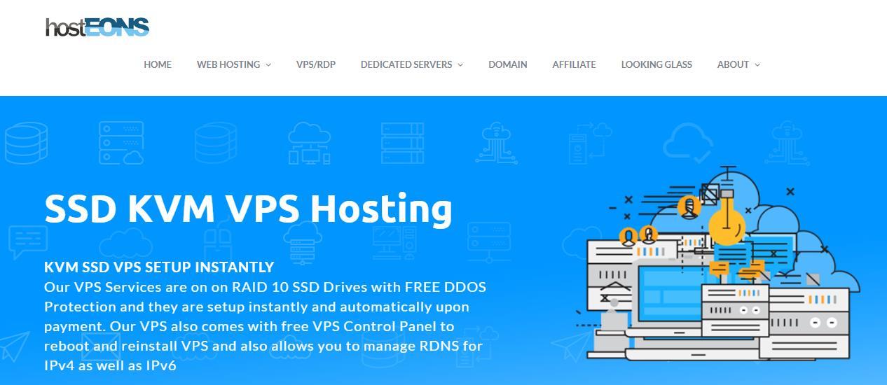 「优惠」Hosteons - 周年优惠 1核 256M内存 5G SSD 不限流量 100M带宽 洛杉矶Psychz OpenVZ 7 年付9.6美元 资讯 第1张