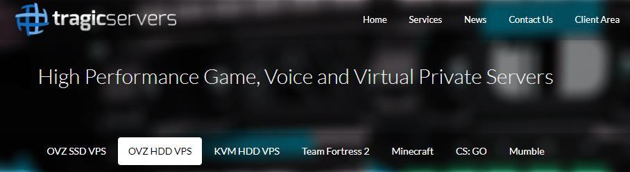「优惠」TragicServers - 2核 512M内存 20G HDD 500G流量 1G带宽 OpenVZ 美国QN机房 年付14美元 资讯 第1张