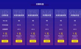 『测评』七牛云 – 随缘测评/1G内存/首月1元/其实就是阿里的机器