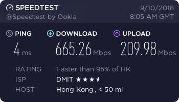 『测评』Dmit - 香港直连低延迟VPS网络升级/再次测评网络环境/带宽大幅提升 主机测评 第2张