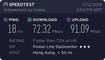 『测评』UOvZ - 512MB内存 / 20G SSD / 100G流量 / 100Mbps / KVM / 香港沙田 / 月付51元 主机测评 第2张