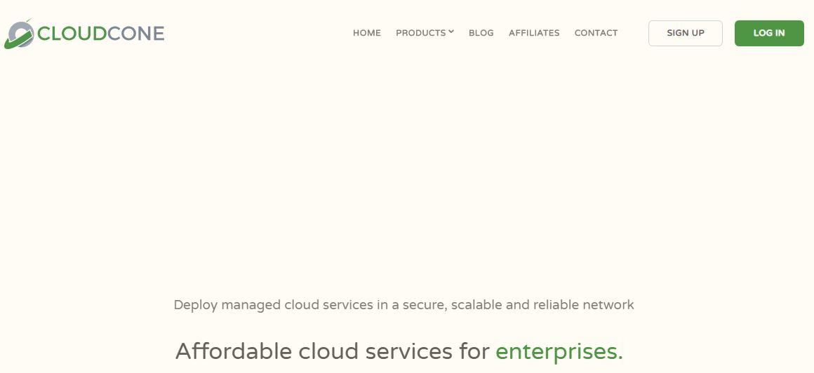 「补货」CloudCone – 1核 768M内存 10GB HDD 1T流量 1Gbps KVM 洛杉矶MC 月付2.49美元 资讯 第1张