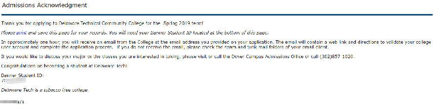 『转载』美国特拉华技术社区学院 - Delaware Technical Community College 申请教程 / 含桌面版Office和Gsuite 干货分享 第5张