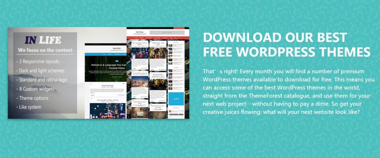 『主题』Themeforest - 1月限免WordPress主题下载/总价值79美元 做站分享 第1张
