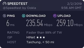 『测评』Natcloud – 台湾Hinet Nat VPS再测评/这次带宽升级了 主机测评 第2张