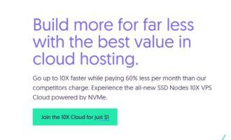 『活动』SSDNodes – 4核/32G内存/160G SSD/16TB流量/KVM/达拉斯Incero/首月1美元试用/填问卷额外赠送10美元
