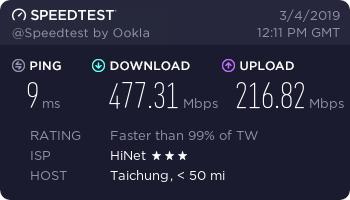 『测评』HurricaneCloud - 台湾大带宽HiNet VDS测评 主机测评 第2张