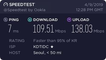 「测评」MoeVM - 韩国KT VDS测评报告 韩国CN2 GIA线路 原生IP 可解锁Netflix 主机测评 第2张