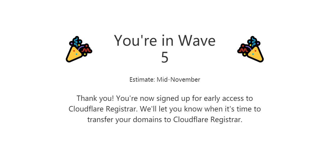 『域名』Cloudflare: 域名注册服务 / 成本价注册 / 预约中 / 捐款1美元可提前 干货分享 第1张