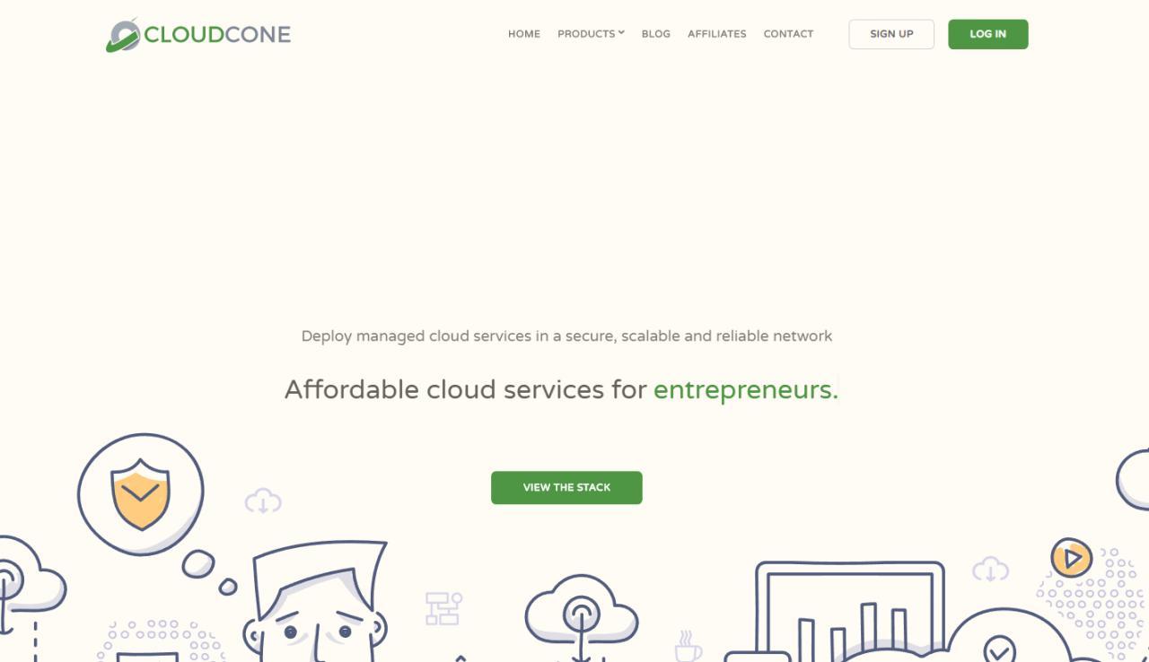 『优惠』CloudCone - 洛杉矶MC / 1核 / 512MB / 10GB 硬盘 / 1T 流量 / 月付 $1.8 资讯 第1张
