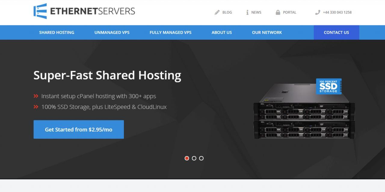 『优惠』Ethernet Servers - 250GB HDD / 5TB 流量 / 2 IPv4 / 4 CPU核心 / 4GB 内存 / 月均2.5美元 / 洛杉矶 / 达拉斯 / 纽约 / 迈阿密 干货分享 第1张