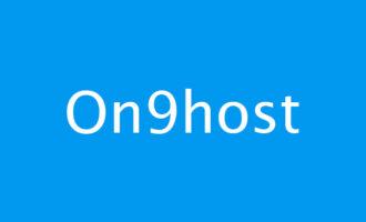 「VPS」on9host – 1核 768M内存 15G硬盘 500G流量 30M带宽 香港WTT 月付8.8美元起