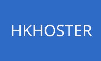 #限量补货#HKhoster – 香港HKT商宽 1核 1G内存/30G HDD 无限流量 100M带宽 KVM 动态IP 面板自助换IP